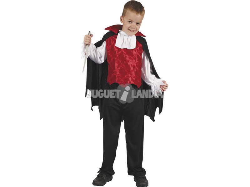 Tamanho do traje vampiro infantil S
