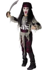 Maschera Pirata Fantasma Bambino Taglia XL