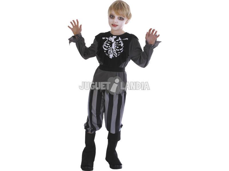 Maschera Pirata Scheletro Bambino Taglia L