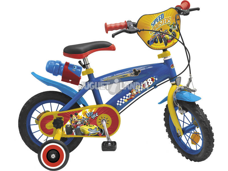 Bicicleta 12 Mickey and the Roadster Racers Toimsa 612
