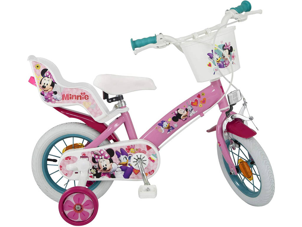 Bicicleta 12 Minnie Club House 2 Frenos Toimsa 611