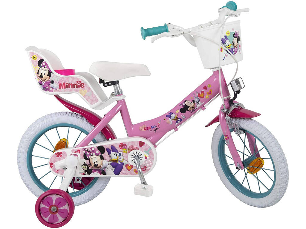 Bicicleta 14 Minnie Club House Toimsa 613