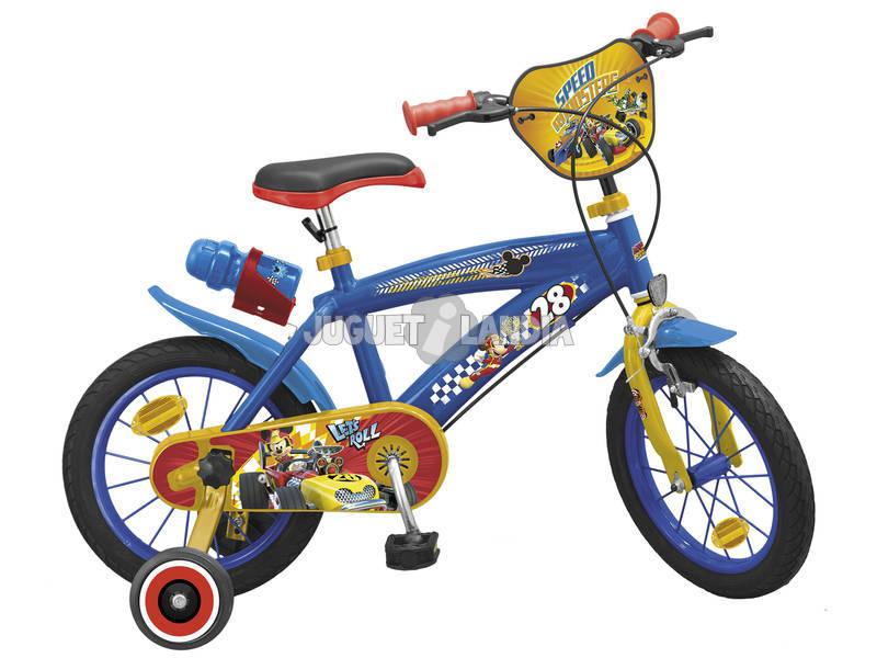 Bicicleta Mickey and the Roadster Racers 14 Toimsa 1414