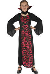 imagen Disfraz Vampiresa Niña Talla L