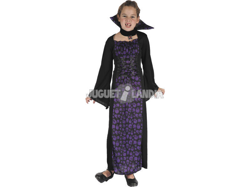 Disfraz Vampiresa Niña Talla L