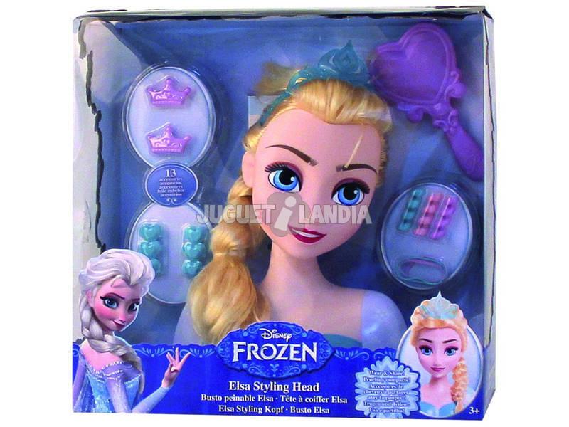 Buste coiffeuse Frozen