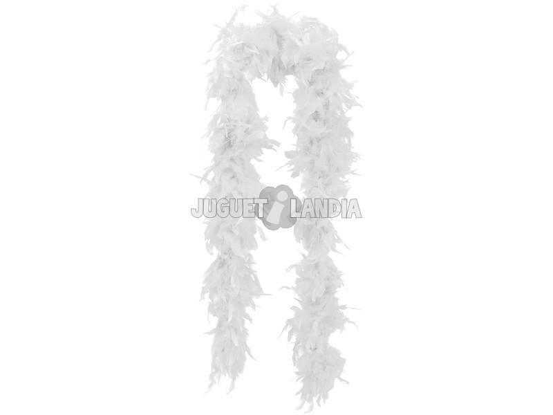 Boa Marabú 75-80 Grs Blanca 180 Cm
