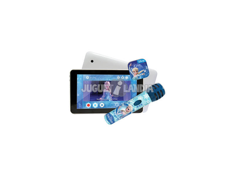 Frozen pack tablet 7 con Micro Karaoke