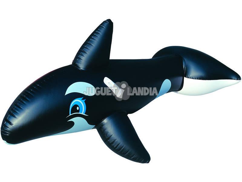 Balena gonfiabile 203 x 102 cm.
