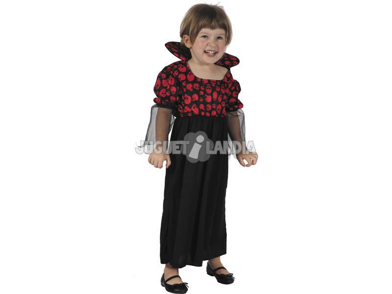 Disfraz Vampiresa Bebé Talla S