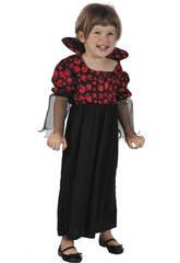 imagen Disfraz Vampiresa Bebé Talla S