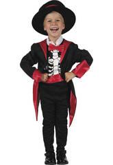 imagen Disfraz Esqueleto Niño Bebé Talla S