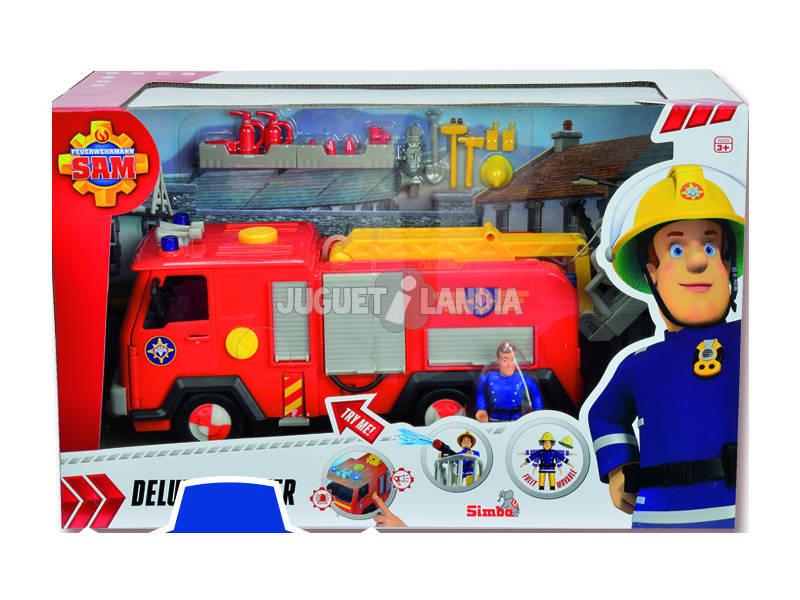 Fireman Sam Camión Júpiter con Figura