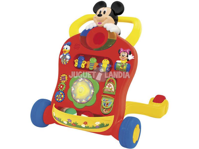 Andador actividades Mickey con luces y sonidos