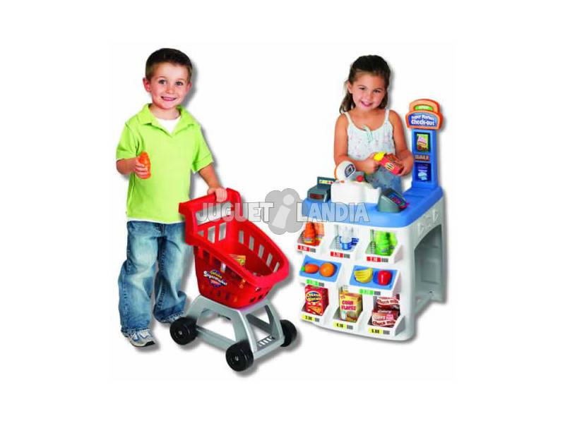 Supermercado deluxe con accesorios