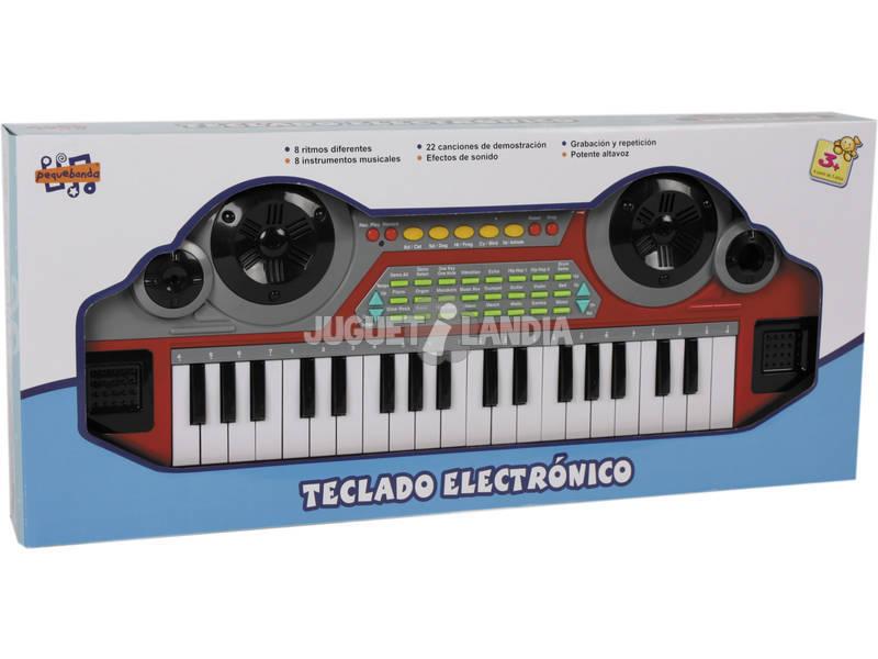 Teclado musical 37 teclas