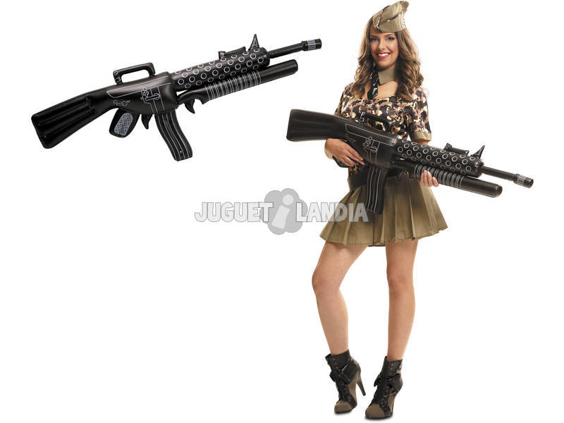Metralhadora de Gangster Insuflável