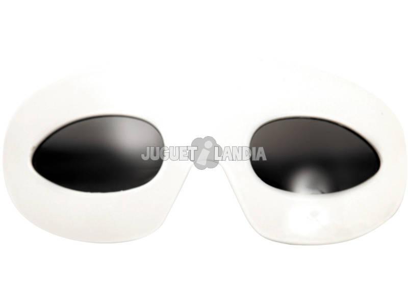 Gafas Estrella Del Rock Blancas