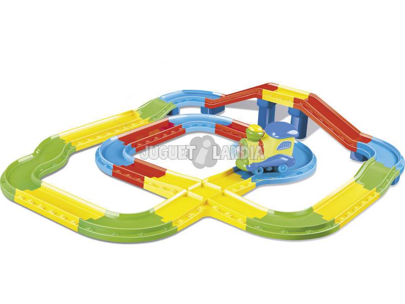 Tren Infantil con Luz y Musica 34 piezas