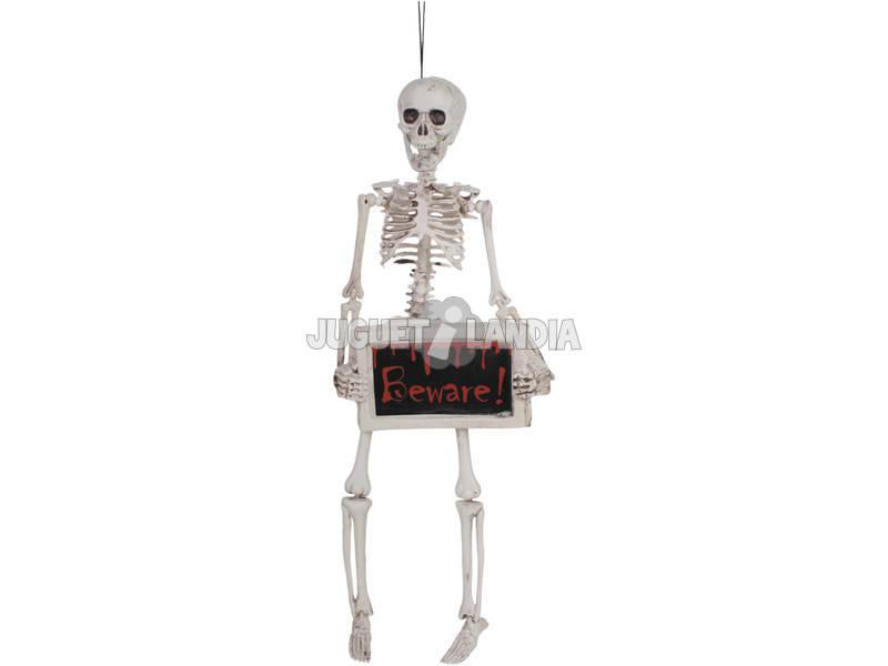 Esqueleto com cuidado Poster