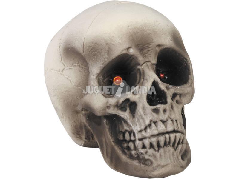 Crâne avec lumière