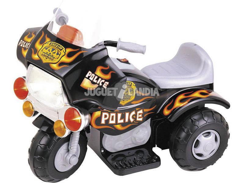 Ma premier moto police à batterie