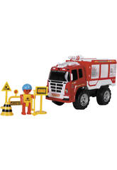 Camión de Juguete Bomberos 37 cm. con Accesorios