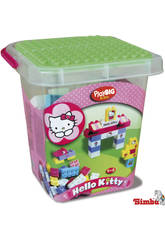 HELLO KITTY CUBO BLOQUES CONSTRUCCION 104 PZAS.