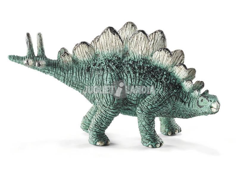 Mini estegossauro