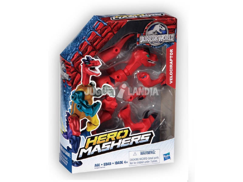 Jurassic World Hero Mashers Dino Hasbro B1196