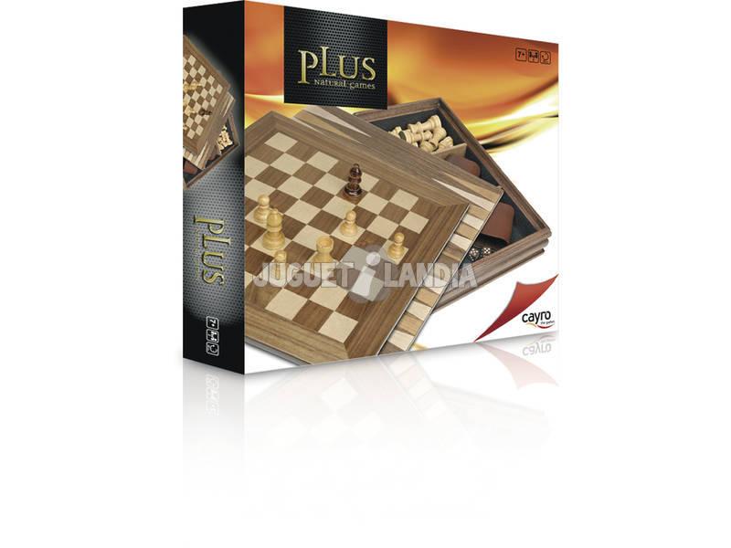 3 Juegos Marquetería Plus