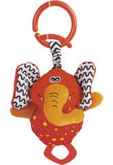 Peluche Mordedor Sonajero Elefante