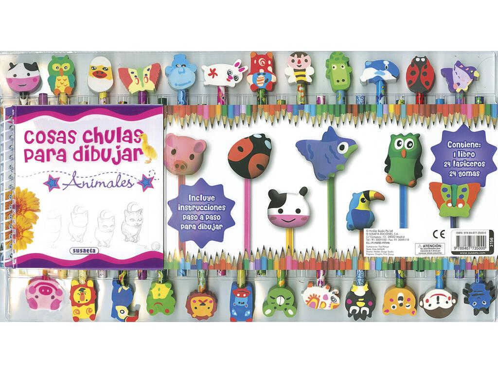 Libro Cosas Chulas Para Dibujar Susaeta Ediciones S3156001