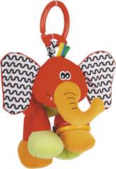 Peluche baby Cube Éléphant