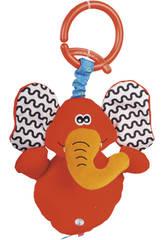 Peluche Musical avec suspendu Éléphant