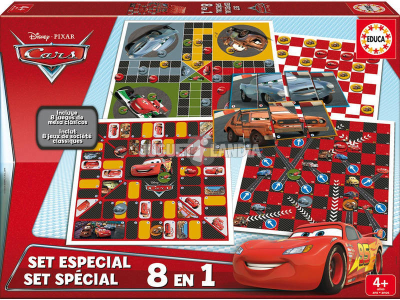 Cars Set Especial 8 en 1 Educa 16388