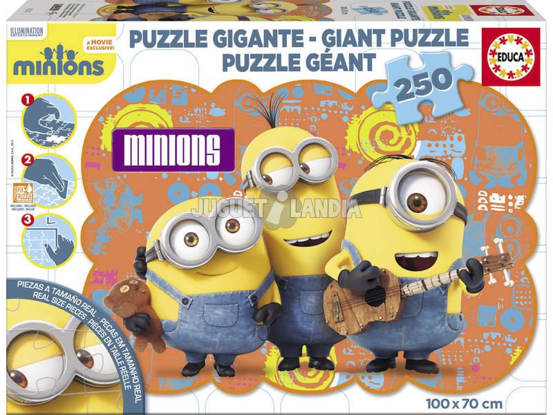 Puzzle 25 Géant Minions Groupe