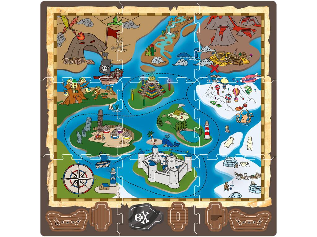Puzzle Eva 9 piezas Isla del Tesoro