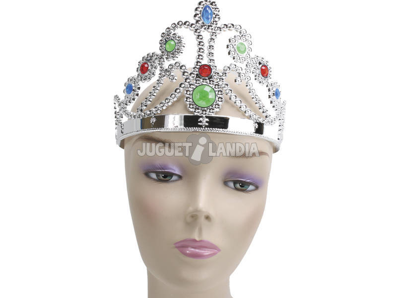 Corona Princesa Oro y Plata