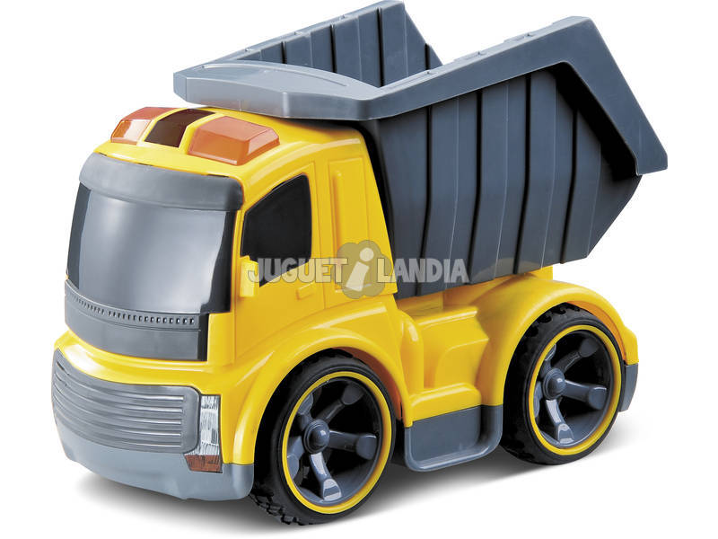 Camion telecomandato con cassone ribaltabile con Suoni 17 cm