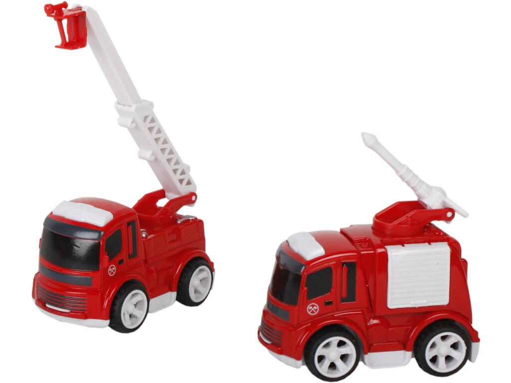 Vehiculos Bombeiros de Brinquedo 10 cm.