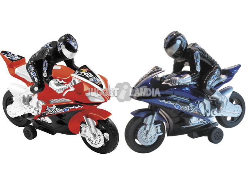 Motos Carreras Friccion 2 unidades