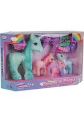 Famiglia Pony 4 unità con Accessori