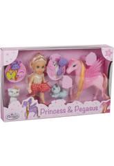 Princesa Elsie 15 cm. con Pony y Accesorios