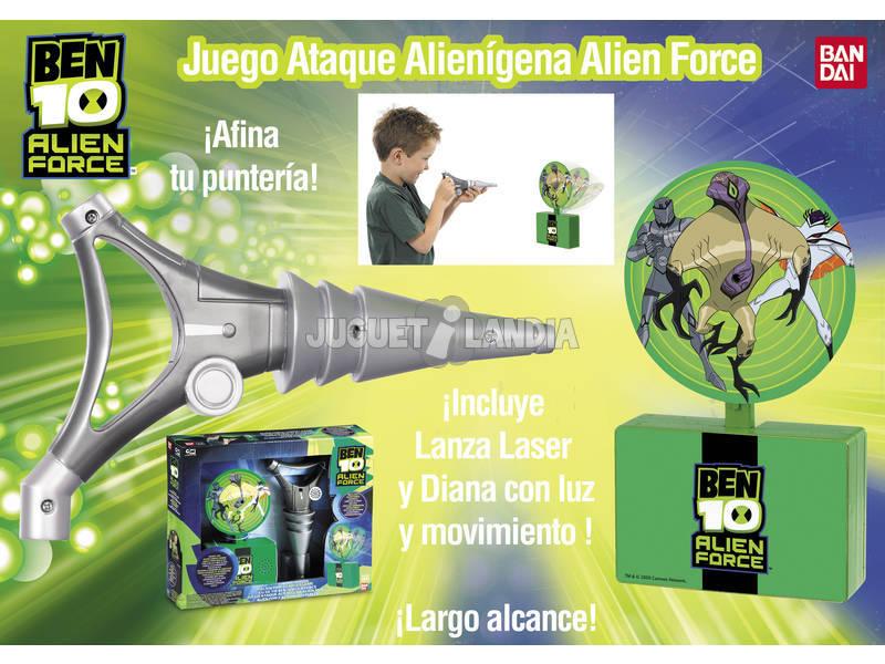 Ben 10 Alien Force juego de ataque alienigena