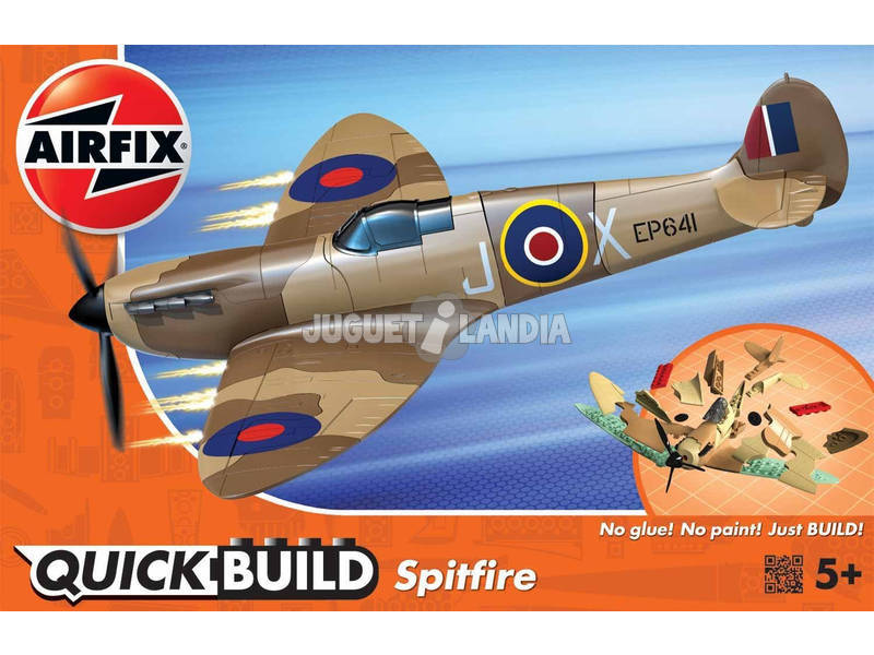 Quick Build Avião Spitfire Desert
