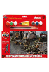 WWII Infantería Alemana