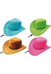 Sombrero Vaquero 4 Surtidos