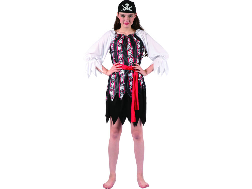 Costume Pirata Teschi Donna L