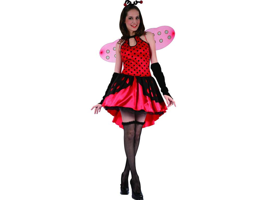 Costume Coccinella Antenne Donna L